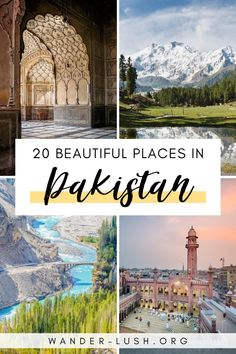 It's hard to imagine a more magnificent landscape than the rugged peaks, hidden villages and wind-swept plains of Pakistan. Here are 20 of the most beautiful places in Pakistan, from wild… Top Travel Destinations, Places To Travel, Places To Visit, Travel Diys, Travel Packing, Travel Essentials, Time Travel, Travel Bag, Pakistan Travel