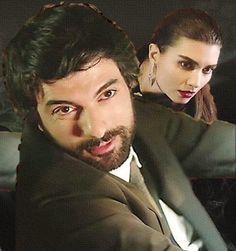 Kara Para Aşk - Engin Akyürek as Ömer and Tuba Buyukustun as Elif in the Turkish TV series, 2014-2015.