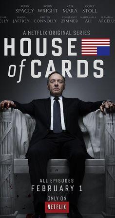 House of Cards (2013– ) Season 1 (1 Feb. 2013- ) by David Fincher - TV Series  -  55 min  -  Drama - ハウス・オブ・カード 野望の階段 シーズン1, デヴィッド・フィンチャー制作総指揮