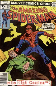 SPIDER-MAN (1963 Series) (AMAZING SPIDER-MAN) #176 PIZZAZZ Fine Comics: $21.50 End Date: Saturday May-19-2018 11:17:11 PDT Buy It Now for…