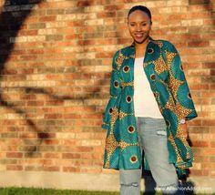 DIY Ankara Jacket Dress