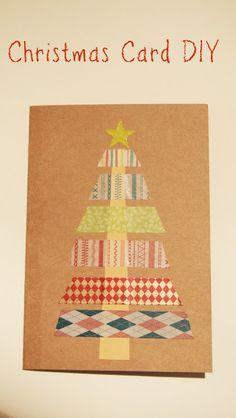 Handmade Christmas Card DIY