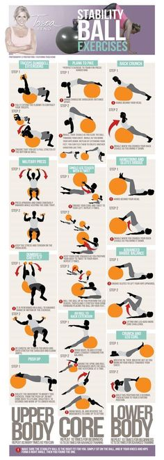 Workout Exercise 11 Stability Ball Exercises to Enhance Your Body Shape - A list of the absolute best fitness watches for women out there today! Including comparisons of the different options and pictures. Fitness Motivation, Fitness Workouts, Fun Workouts, Yoga Fitness, At Home Workouts, Health Fitness, Fitness Tips, Fitness Ball Exercises, Physical Fitness