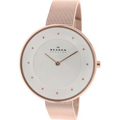 Skagen Women's Gitte SKW2142 Rose-Gold Stainless-Steel Quartz Watch