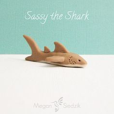 Items similar to Polymer Clay Shark Animal Figurine Miniature Geekery Sculpture on Etsy