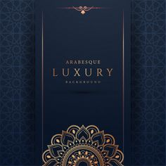 Luxury mandala background with golden ar. Mandala Background, Art Background, Vector Background, Eid Mubarak Greetings, Poster Background Design, Luxury Background, Arabesque Pattern, Invitation Background, Framed Wallpaper