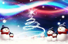 Tarjeta de Navidad Muñecos de Nieve Las mejores invitaciones para que regales en Navidad #tarjetas #navidad #christmas #greetings #card