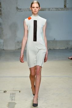 Damir Doma | Spring 2014 Ready-to-Wear Collection | Holly Rose Emery Modeling | Style.com