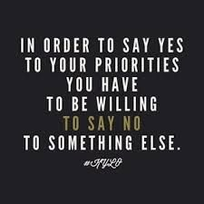 Priorities Quote Your priorities aren't what you say they