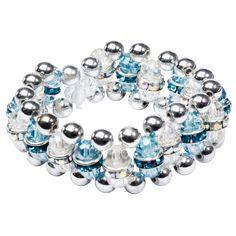 Fädelanleitung für ein Perlen-Armband - Ideen mit Herz