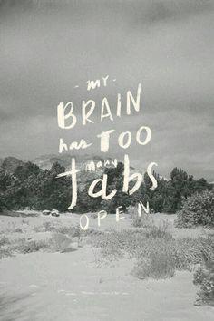 No wonder ma brains keep falling out!!