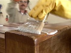 Stripping Stain, repairing wood, staining and protecting