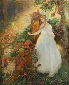 The Goblin Market by Hilda Hechle
