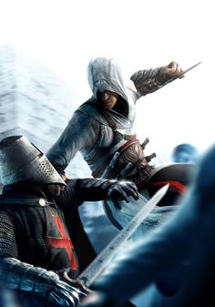 Altaïr is an ancestor of Desmond Miles, a modern-day assassin. He killed his mentor, whom he called his second father, Rashid ad-Din Sinan in September 1191 in Masyaf, Syria, after finding out about his betrayal. He was a close friend with Niccoló Polo, the father of Marco Polo. Using the apple of Eden, he seemed to know the future, as he showed up with a small firearm on his wrist to kill Abbas Sofian in 1247, long before a true gun was made.