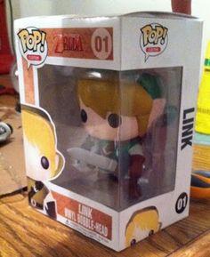The legend of Zelda link pop figure