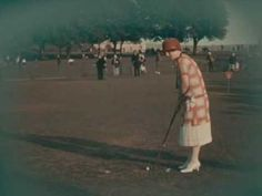 video england 1920's more at link Plymouth Hoe, Devon (1924)