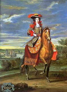 Olympe Mancini, comtesse de Soissons, 1680 by Jean-Baptiste Martin des Batailles (1659-1735)