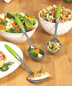 3-Pc. Portion Control Serving Set. This is so genius!! Never over eat again!
