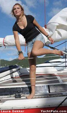 Laura Dekker--teenage solo world circumnavigator
