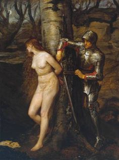 The Knight Errant, 1870. Sir John Everett Millais