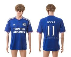 http://www.xjersey.com/201516-chelsea-11-oscar-home-thailand-jerseys.html 2015-16 CHELSEA 11 OSCAR HOME THAILAND JERSEYS Only 33.11€ , Free Shipping!