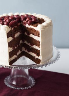 Did you know that in Germany, Kirsch must be used in this recipe in order for the cake to be sold as an authentic Black Forest Cake? Our version is true to the original recipe, with a simple yet beautiful finished look. What you need for the Chocolate...