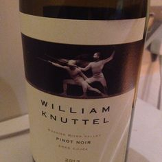 2013 William Knuttel Winery Pinot Noir Epee Cuvee - USA, California, Sonoma…