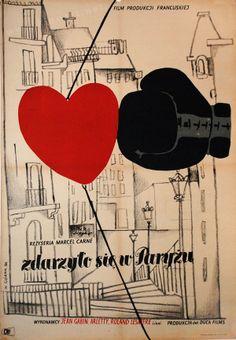 Air of Paris (Marcel Carné, 1954) Polish design by Wiktor Gorka
