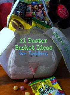 21 Easter Basket Gift Ideas for Toddlers and Preschoolers (with less sugar)