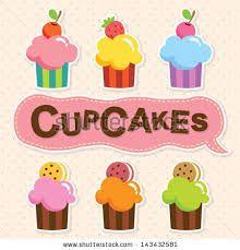 dibujos de cupcakes tiernos - Buscar con Google