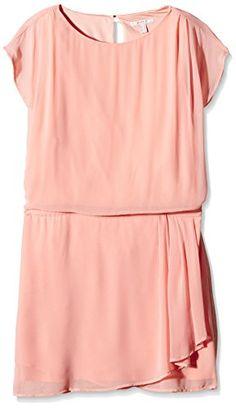 Esprit In - Robe - Trapèze - Uni - Manches courtes - Femme - Rose (Apricot 875) - FR: 44 (Taille fabricant: 42) Esprit http://www.amazon.fr/dp/B00S0OYR5M/ref=cm_sw_r_pi_dp_RvISwb03Q20C5