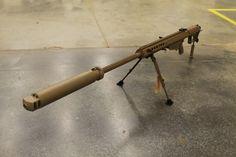 Barrett M107A1 with Suppressor #guns
