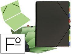 Carpeta clasificadora carton compacto Pardo 9 departamentos  http://www.20milproductos.com/archivo/carpetas-subcarpetas-y-dossieres/carpeta-clasificadora-carton-compacto-pardo.html