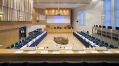 Council hall in Rovaniemi town hall/ Alvar Aalto