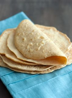 Low Carb Tortilla Recipe - simple and delicious tortillas that make for great tacos and burritos.