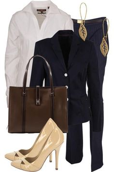 Office chic / Nude pumps!   CLICK THIS PIN if you want to learn how you can EARN MONEY while surfing on Pinterest