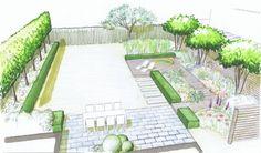 jardin avec jacuzzi