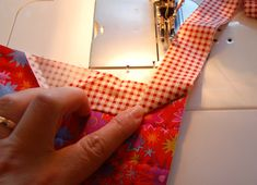 Okay. Here you go. This is how I generally sew on binding completely with the sewing machine. I think there may be a couple of things that I do differently from the general population. Let me kno...