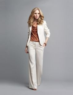 This is so my style head to toe.  Herringbone Jacket and Fit & Flare pant.