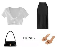 #honeylook #look #style Aesthetic Fashion, Aesthetic Clothes, Look Fashion, Daily Fashion, Fashion Outfits, Womens Fashion, Classy Going Out Outfits, Cute Casual Outfits, Stylish Outfits