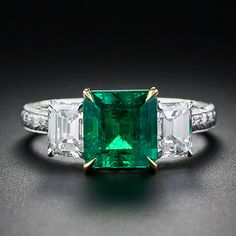 2.15 Carat Gem Emerald Ring $16,850.. could this be my favorite?