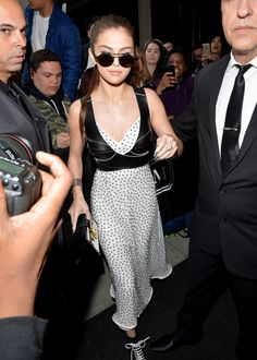 May 2: Selena leaving The Mark Hotel in New York, NY