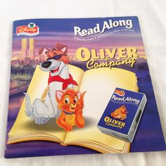 Disney's Oliver and Company- Vintage Kids Book by RetroVintageHeart on Etsy