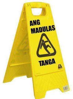 "Hah the ""tanga"" on the bottom. Filipino Words, Filipino Memes, Filipino Funny, Filipino Art, Funny Qoutes, Jokes Quotes, Funny Memes, Hilarious, Tagalog Qoutes"