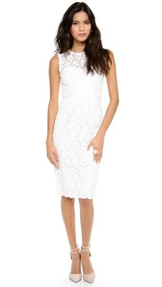 "Jill Jill Stuart Lace Dress.  Short might work for an ""I do BBQ"""