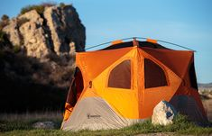 First Look: Gazelle Pop-Up Tent Is Family-Size Palace – Gear Junkie