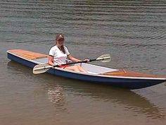 Toto 13ft open kayak.