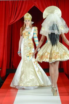 #runway #couture #hifashion #fashionweek #kokoshnik #russiandesigner #wedding #кокошник #высокаямода #свадьба #jenkasfashion