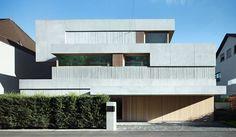 Buchner Bründler - Kahlstrasse house, 2014 Via Zurich. aphasia , photos (C) Ruedi Walti.