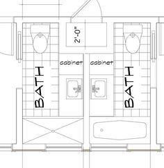 More on Baths Slideshow: 7 Small Bathroom Floorplan Layouts ...